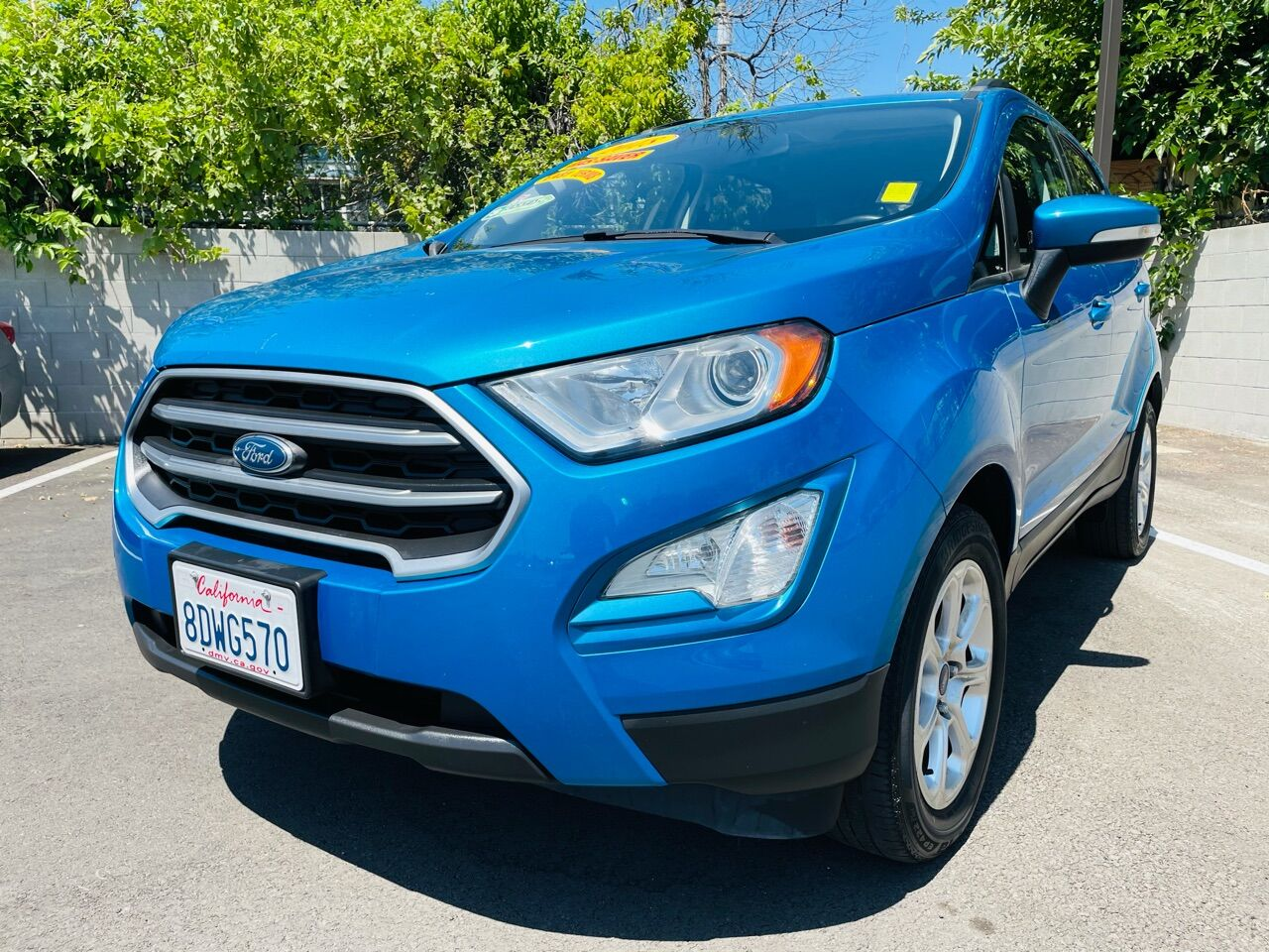 Pre-Owned 2018 Ford EcoSport SE 4dr Crossover