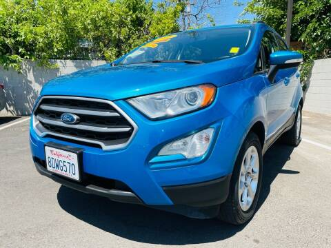 2018 Ford EcoSport for sale at Used Cars Fresno Inc in Fresno CA