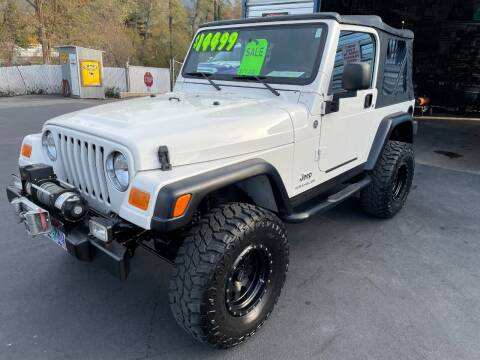 2006 Jeep Wrangler for sale at 3 BOYS CLASSIC TOWING and Auto Sales in Grants Pass OR