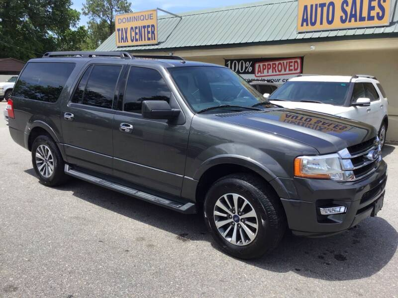 2017 Ford Expedition EL for sale at Dominique Auto Sales in Opelousas LA