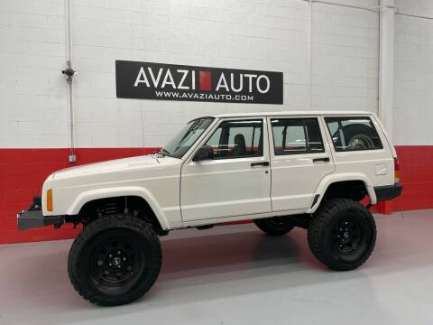 1998 Jeep Cherokee for sale at AVAZI AUTO GROUP LLC in Gaithersburg MD