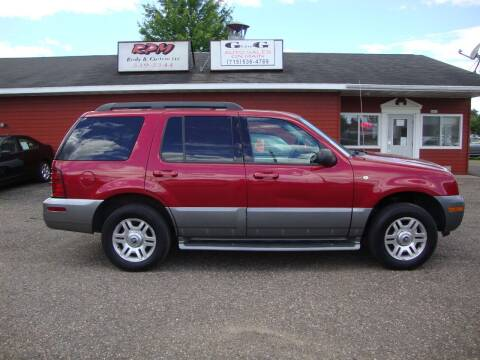 2005 Mercury Mountaineer for sale at G and G AUTO SALES in Merrill WI