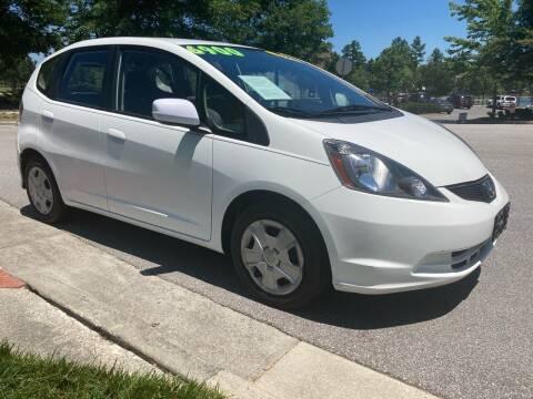 2013 Honda Fit for sale at LA 12 Motors in Durham NC