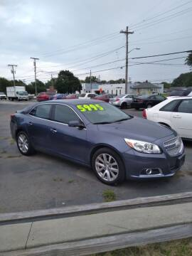 2013 Chevrolet Malibu for sale at D and D All American Financing in Warren MI