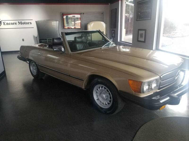 1983 Mercedes-Benz 380-Class for sale at Encore Motors in Macon GA