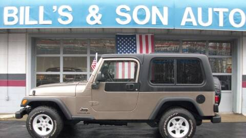 2004 Jeep Wrangler for sale at Bill's & Son Auto/Truck Inc in Ravenna OH