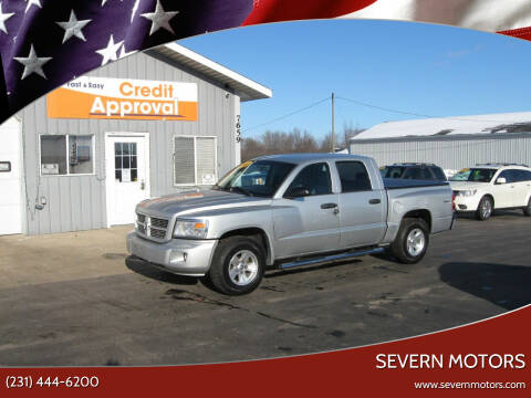 2010 Dodge Dakota for sale at Severn Motors in Cadillac MI