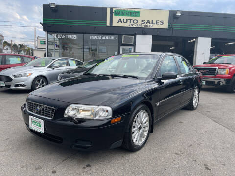2004 Volvo S80 for sale at Wakefield Auto Sales of Main Street Inc. in Wakefield MA