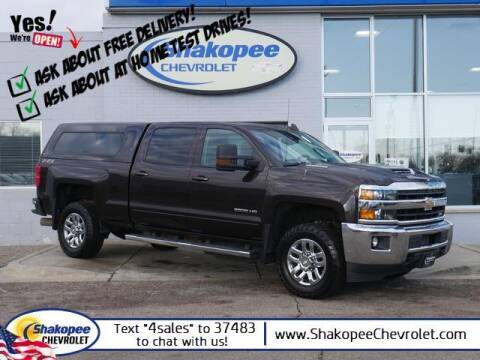 2018 Chevrolet Silverado 2500HD for sale at SHAKOPEE CHEVROLET in Shakopee MN