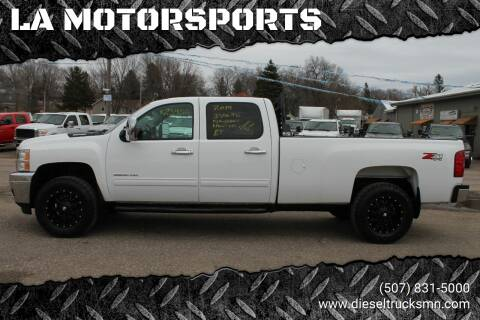 2014 Chevrolet Silverado 3500HD for sale at LA MOTORSPORTS in Windom MN