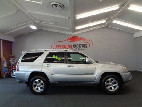 2004 Toyota 4Runner for sale at Premium Motors in Villa Park IL