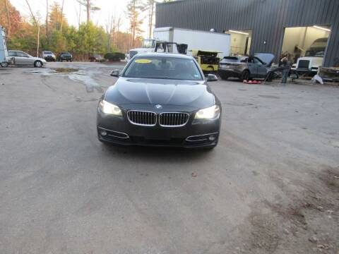 2014 BMW 5 Series for sale at Heritage Truck and Auto Inc. in Londonderry NH