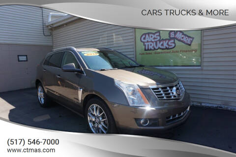 2014 Cadillac SRX for sale at Cars Trucks & More in Howell MI