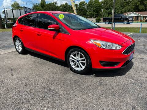 2017 Ford Focus for sale at QUALITY PREOWNED AUTO in Houston TX