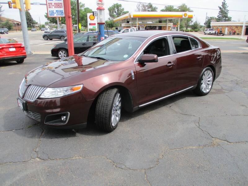 2012 Lincoln MKS for sale at Premier Auto in Wheat Ridge CO