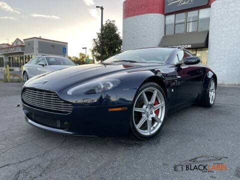 2006 Aston Martin V8 Vantage for sale at BLACK LABEL AUTO FIRM in Riverside CA