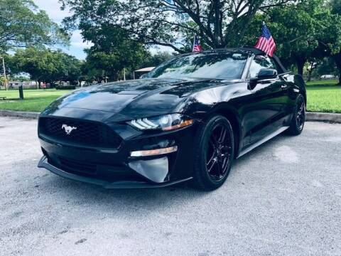 2020 Ford Mustang for sale at Venmotors LLC in Hollywood FL