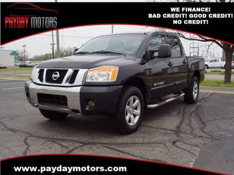 2008 Nissan Titan for sale at Payday Motors in Wichita And Topeka KS