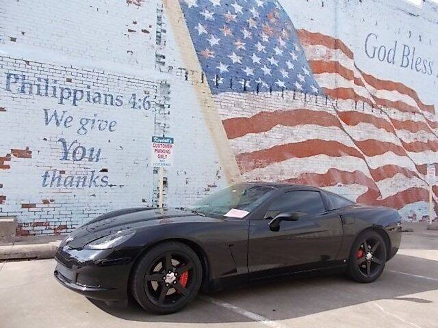 2007 Chevrolet Corvette for sale at LARRY'S CLASSICS in Skiatook OK
