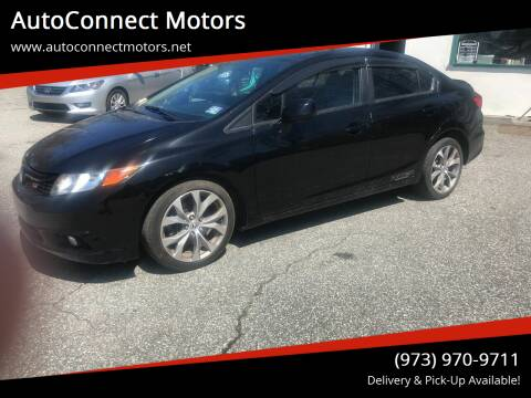 2012 Honda Civic for sale at AutoConnect Motors in Kenvil NJ