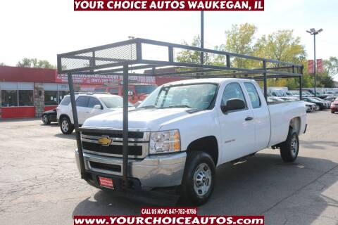 2012 Chevrolet Silverado 2500HD for sale at Your Choice Autos - Waukegan in Waukegan IL