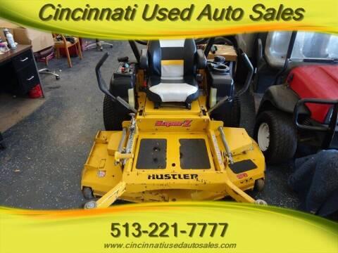 2013 Hustler Super Z for sale at Cincinnati Used Auto Sales in Cincinnati OH