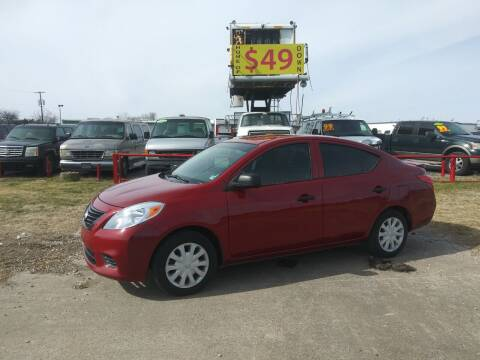 2014 Nissan Versa for sale at USA Auto Sales in Dallas TX