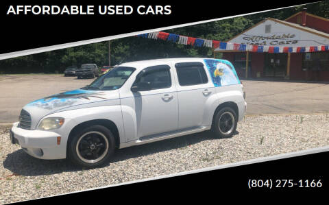 2009 Chevrolet HHR for sale at AFFORDABLE USED CARS in Richmond VA