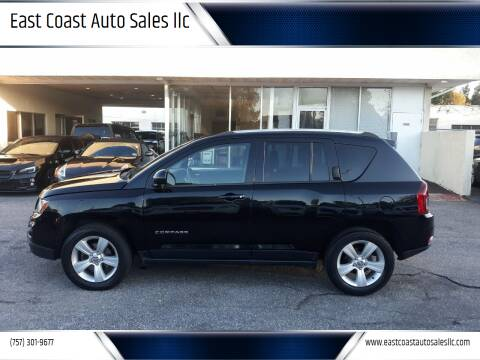 2014 Jeep Compass for sale at East Coast Auto Sales llc in Virginia Beach VA