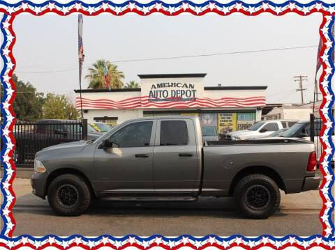 2012 RAM Ram Pickup 1500 for sale at American Auto Depot in Modesto CA