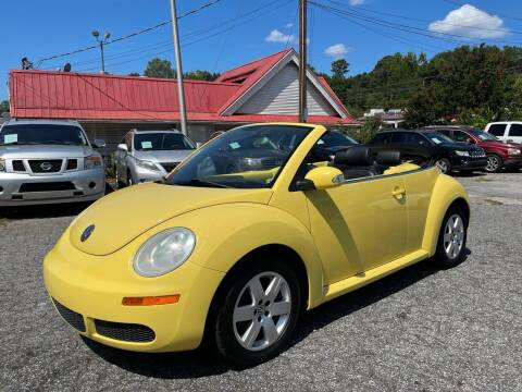 2007 Volkswagen New Beetle Convertible for sale at Car Online in Roswell GA
