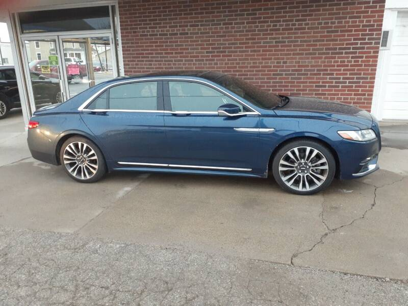 2017 Lincoln Continental for sale at Albia Motor Co in Albia IA