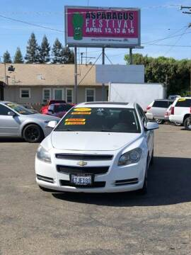 2012 Chevrolet Malibu for sale at Victory Auto Sales in Stockton CA