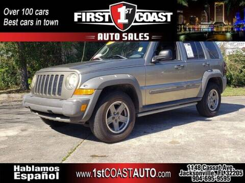 2005 Jeep Liberty for sale at 1st Coast Auto -Cassat Avenue in Jacksonville FL