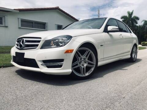 2012 Mercedes-Benz C-Class for sale at Venmotors LLC in Hollywood FL