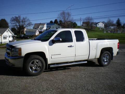 2012 Chevrolet Silverado 1500 for sale at Starrs Used Cars Inc in Barnesville OH