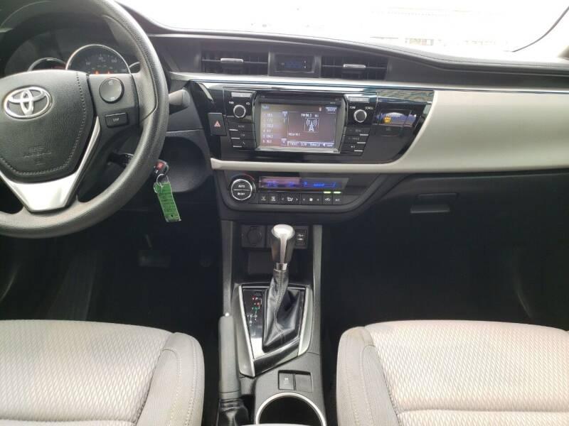 2015 Toyota Corolla L 4dr Sedan 4A - Montebello CA