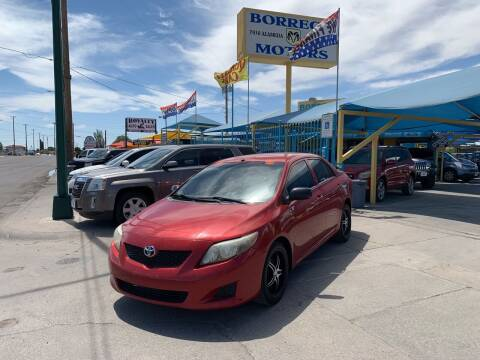 2009 Toyota Corolla for sale at Borrego Motors in El Paso TX