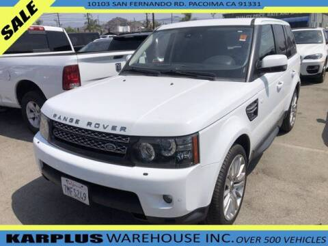 2013 Land Rover Range Rover Sport for sale at Karplus Warehouse in Pacoima CA