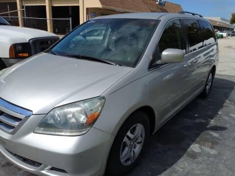 2006 Honda Odyssey for sale at LAND & SEA BROKERS INC in Deerfield FL