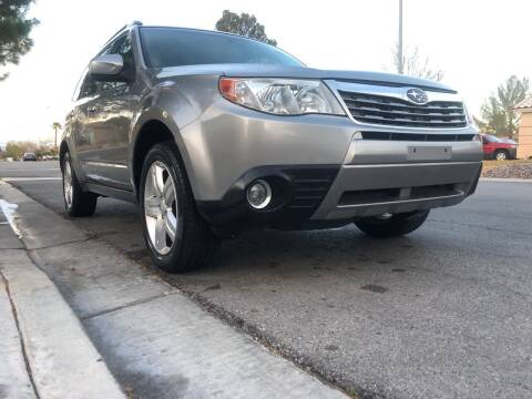 2009 Subaru Forester for sale at LUXE Autos in Las Vegas NV
