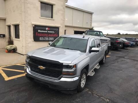 2018 Chevrolet Silverado 1500 for sale at Diamond Motors in Pecatonica IL