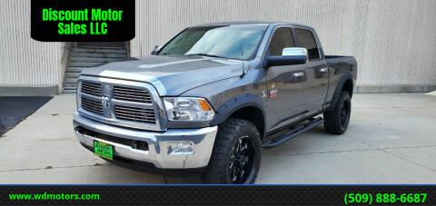 2010 Dodge Ram Pickup 3500 for sale at Discount Motor Sales LLC in Wenatchee WA
