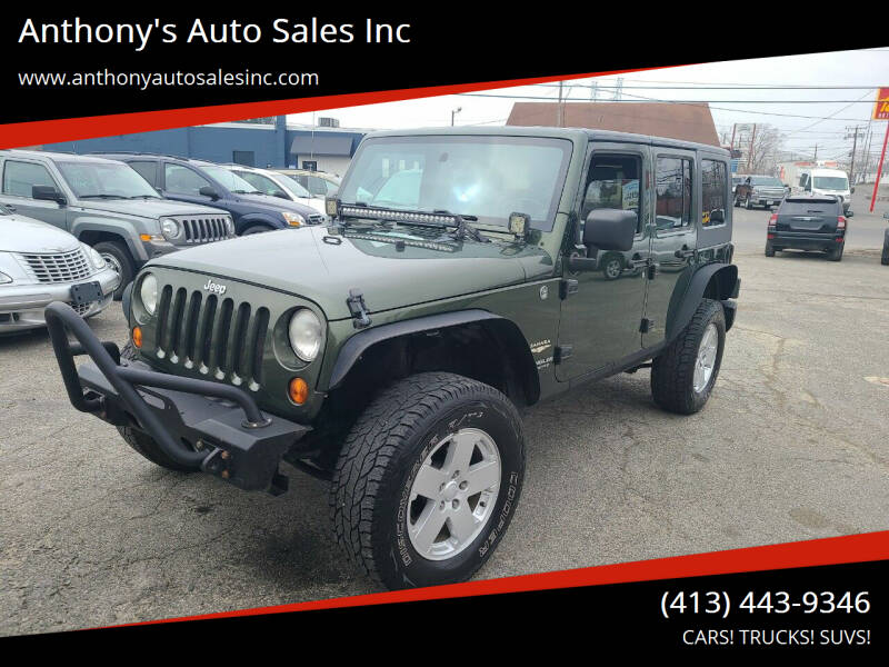 2007 Jeep Wrangler Unlimited for sale at Anthony's Auto Sales Inc in Pittsfield MA