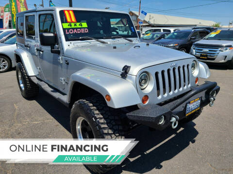 2011 Jeep Wrangler Unlimited for sale at Super Cars Sales Inc #1 - Super Auto Sales Inc #2 in Modesto CA