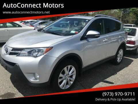 2014 Toyota RAV4 for sale at AutoConnect Motors in Kenvil NJ
