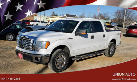 2010 Ford F-150 for sale at Union Auto in Union IA