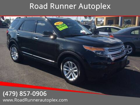 2013 Ford Explorer for sale at Road Runner Autoplex in Russellville AR