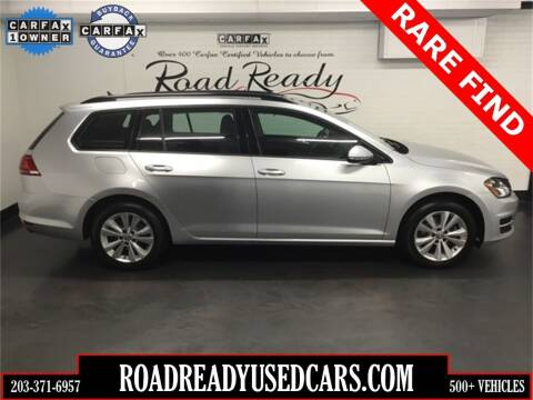 2017 Volkswagen Golf SportWagen for sale at Road Ready Used Cars in Ansonia CT