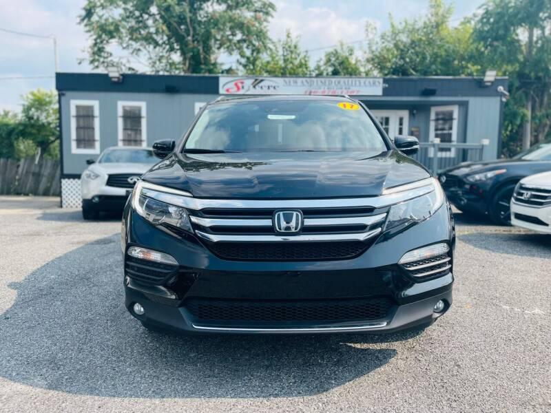 2017 Honda Pilot for sale at Sincere Motors LLC in Baltimore MD